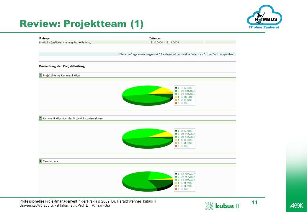 Review: Projektteam (1)