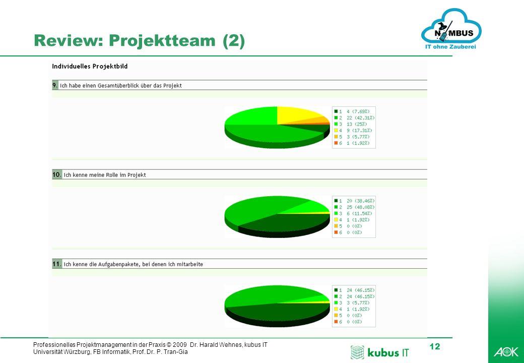Review: Projektteam (2)