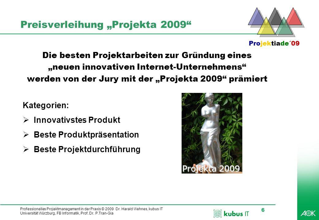 "Preisverleihung ""Projekta 2009"
