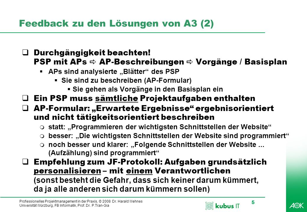 Feedback zu den Lösungen von A3 (2)
