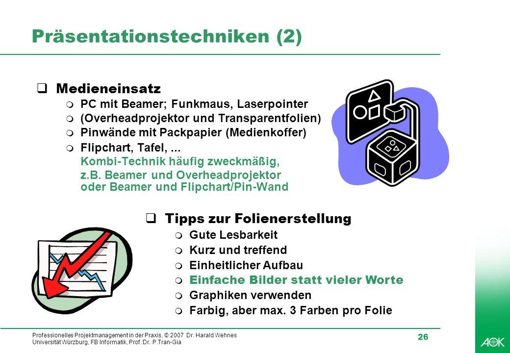 Präsentationstechniken (2)