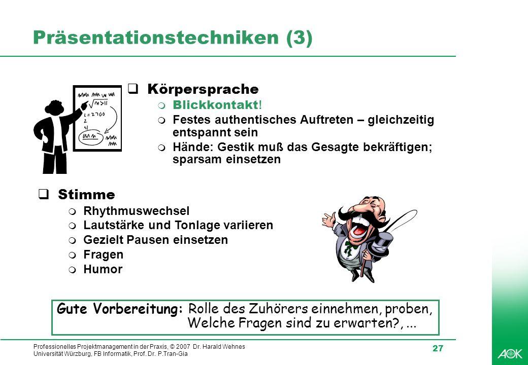 Präsentationstechniken (3)