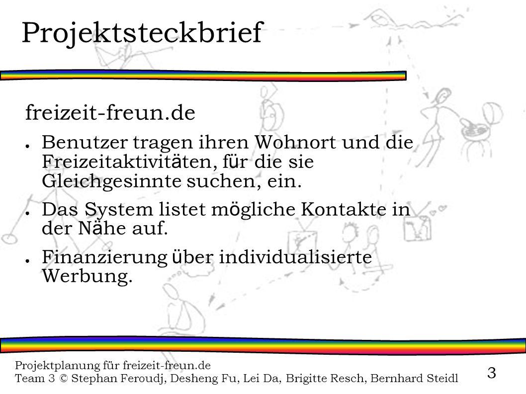 Projektsteckbrief freizeit-freun.de