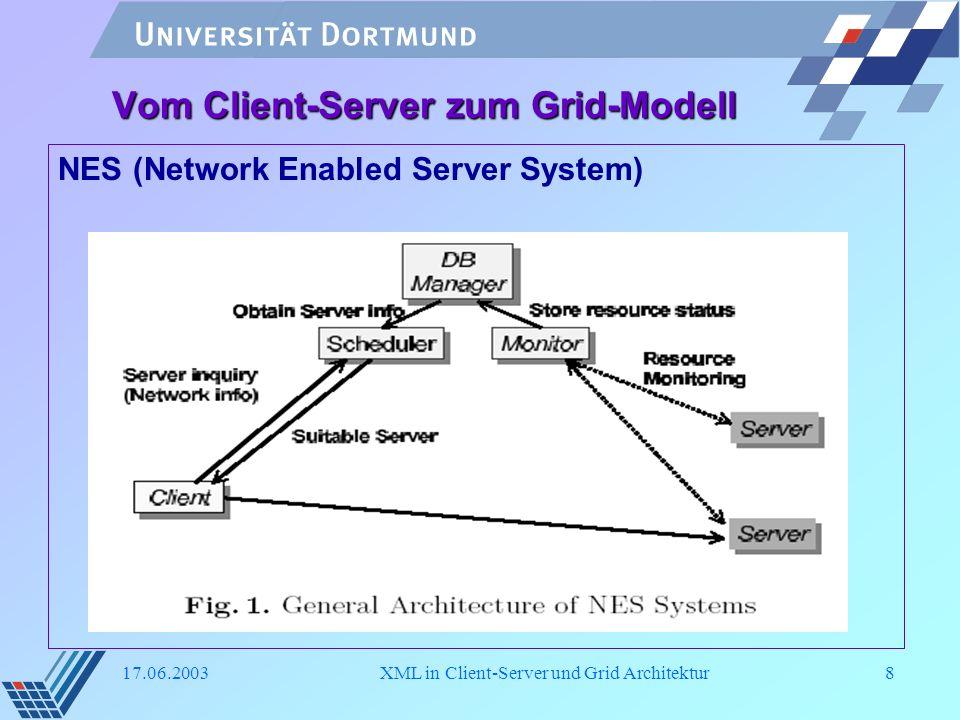 Vom Client-Server zum Grid-Modell