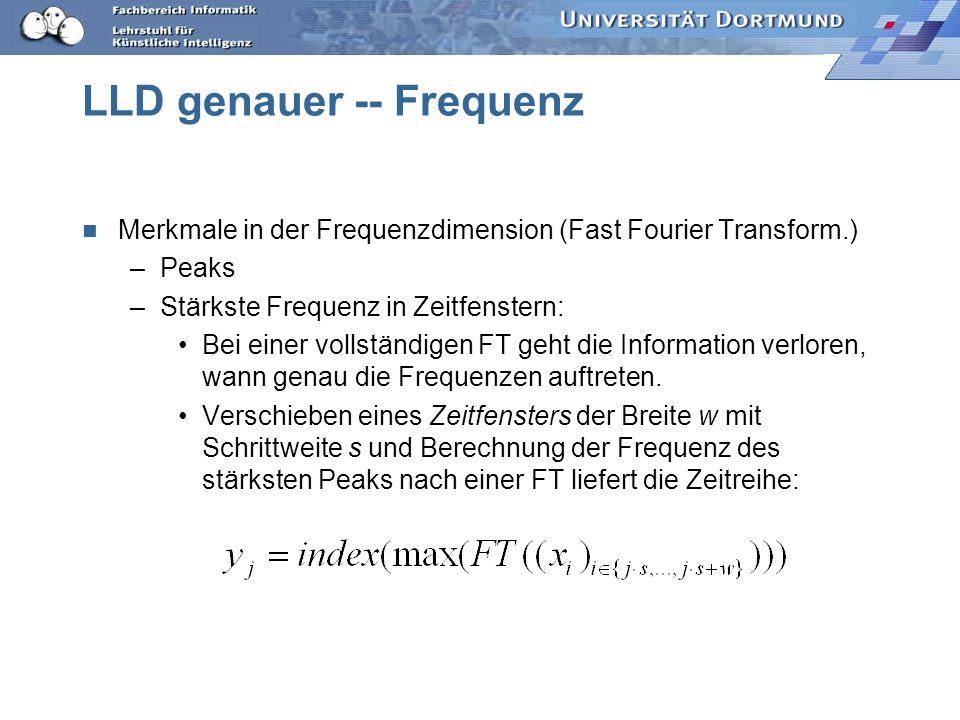 LLD genauer -- Frequenz