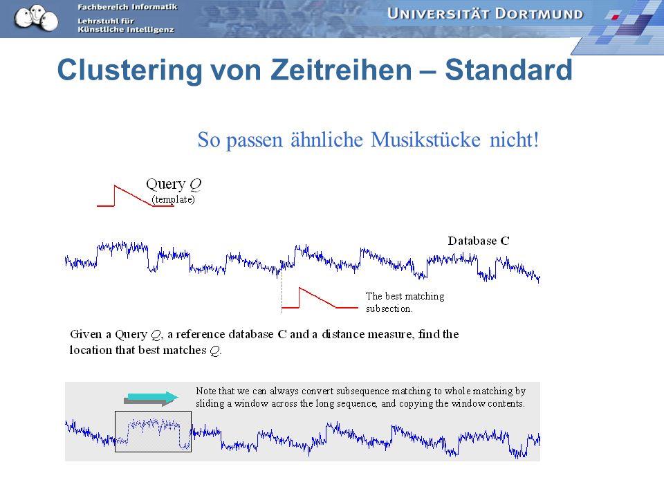 Clustering von Zeitreihen – Standard