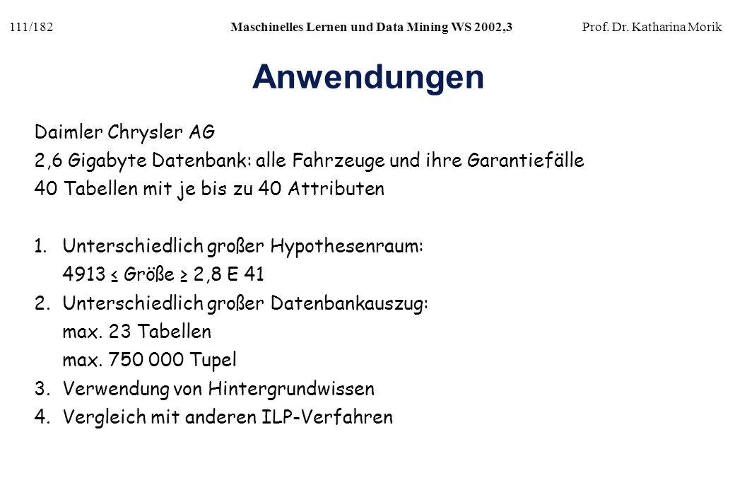 Anwendungen Daimler Chrysler AG