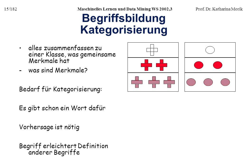 Begriffsbildung Kategorisierung
