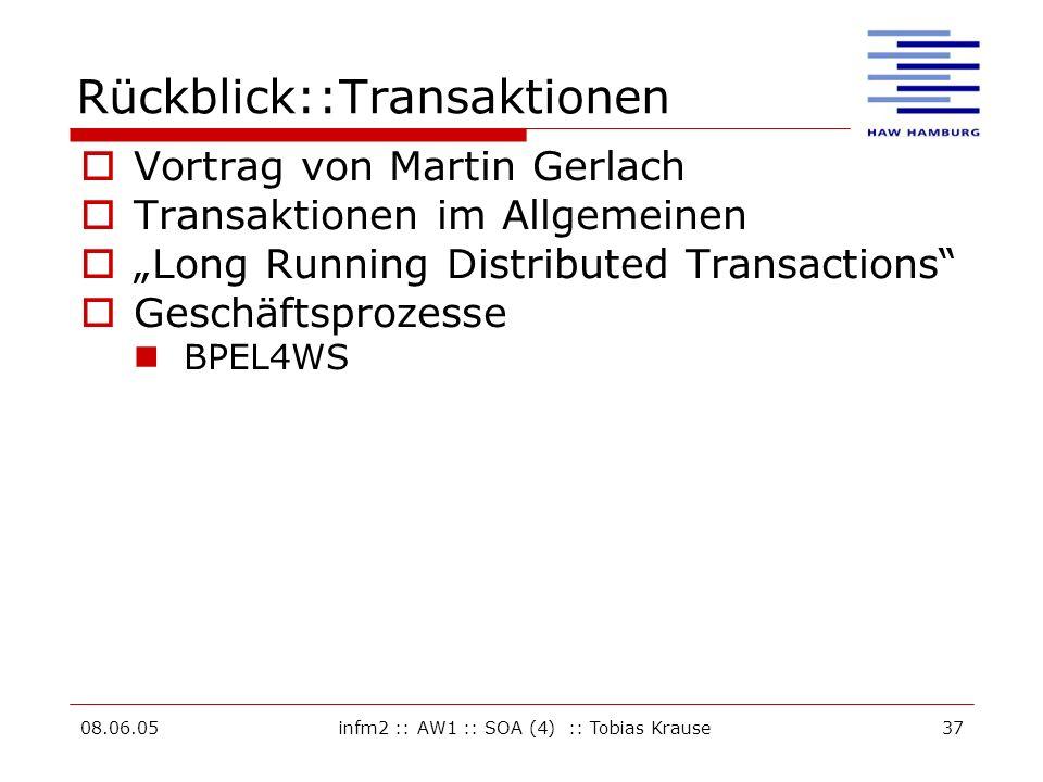 Rückblick::Transaktionen
