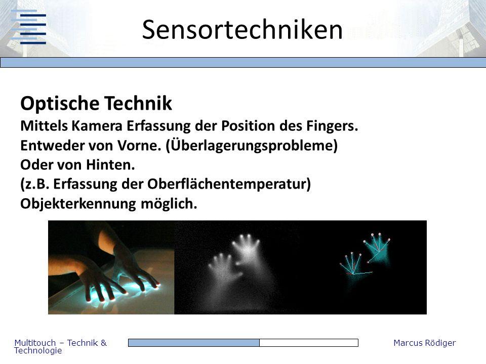 Sensortechniken Optische Technik