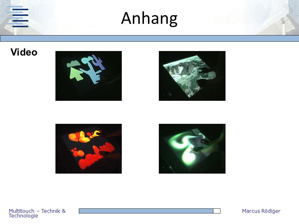 Anhang Video