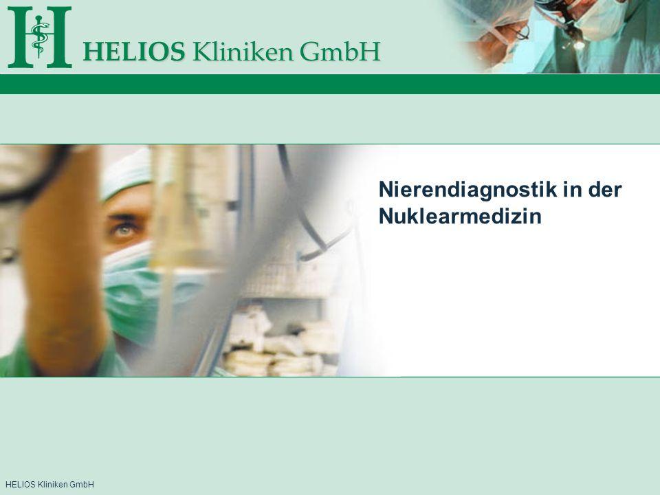 Nierendiagnostik in der Nuklearmedizin