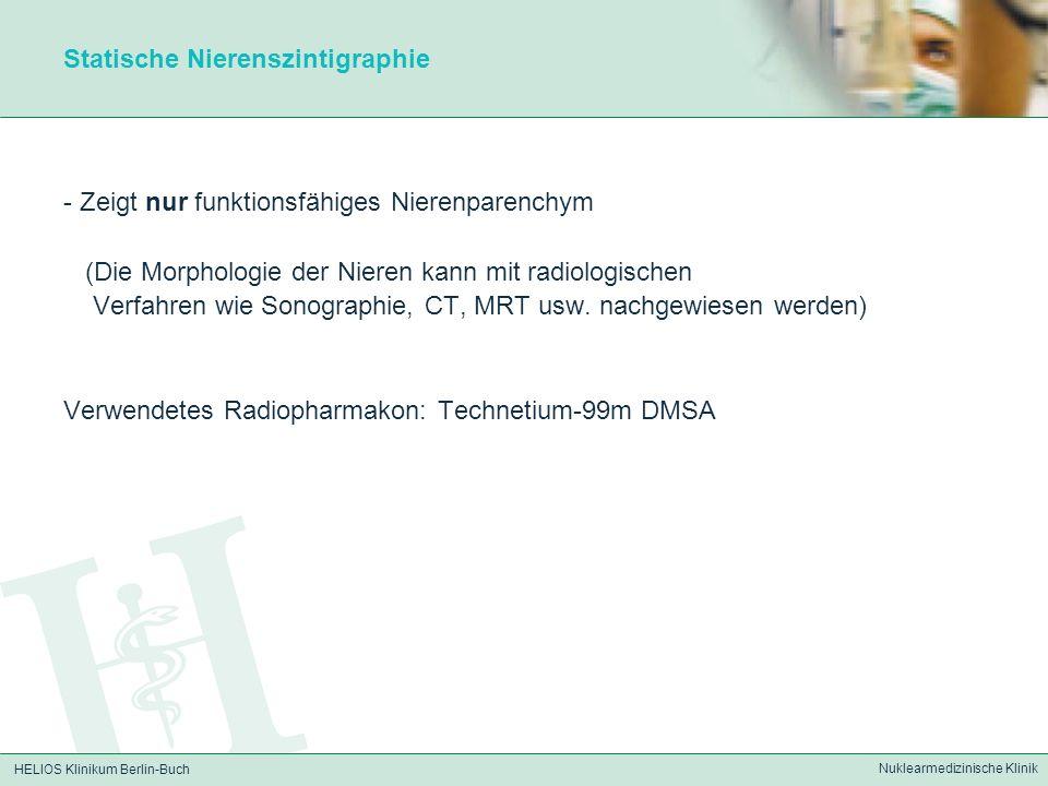 Statische Nierenszintigraphie