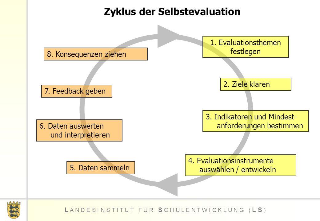 Zyklus der Selbstevaluation