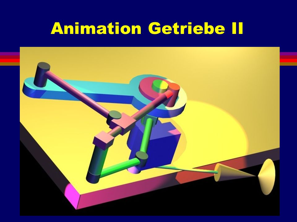 Animation Getriebe II