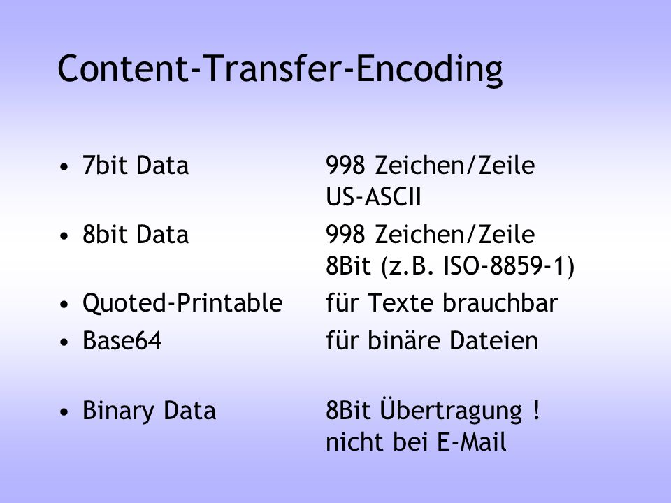 Content-Transfer-Encoding