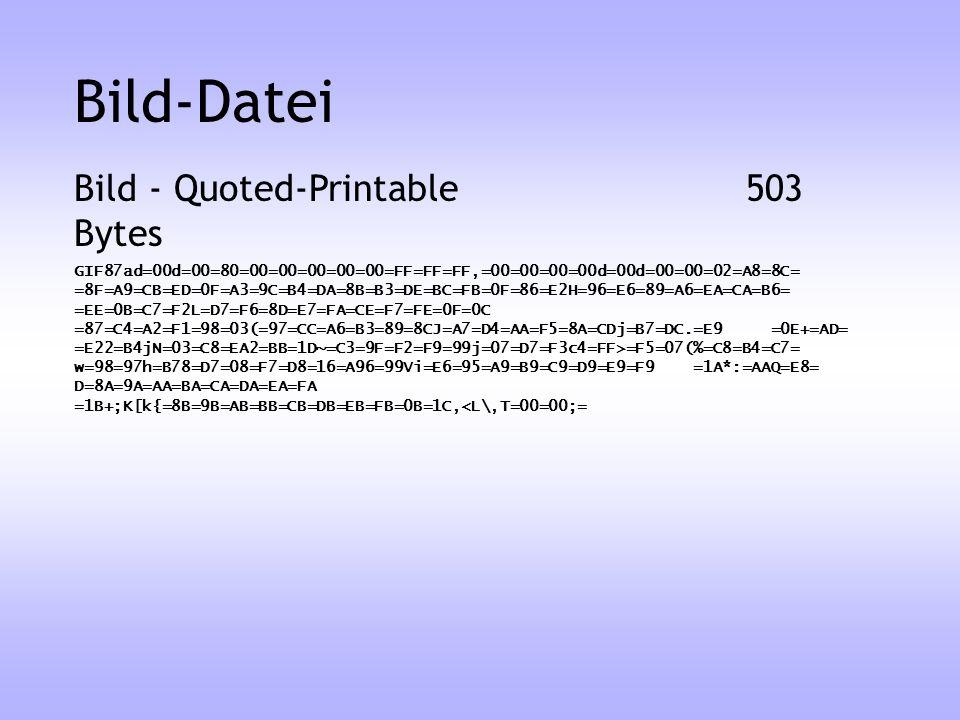 Bild-Datei Bild - Quoted-Printable 503 Bytes