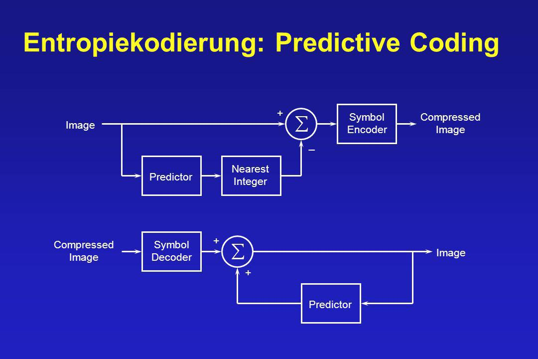 Entropiekodierung: Predictive Coding