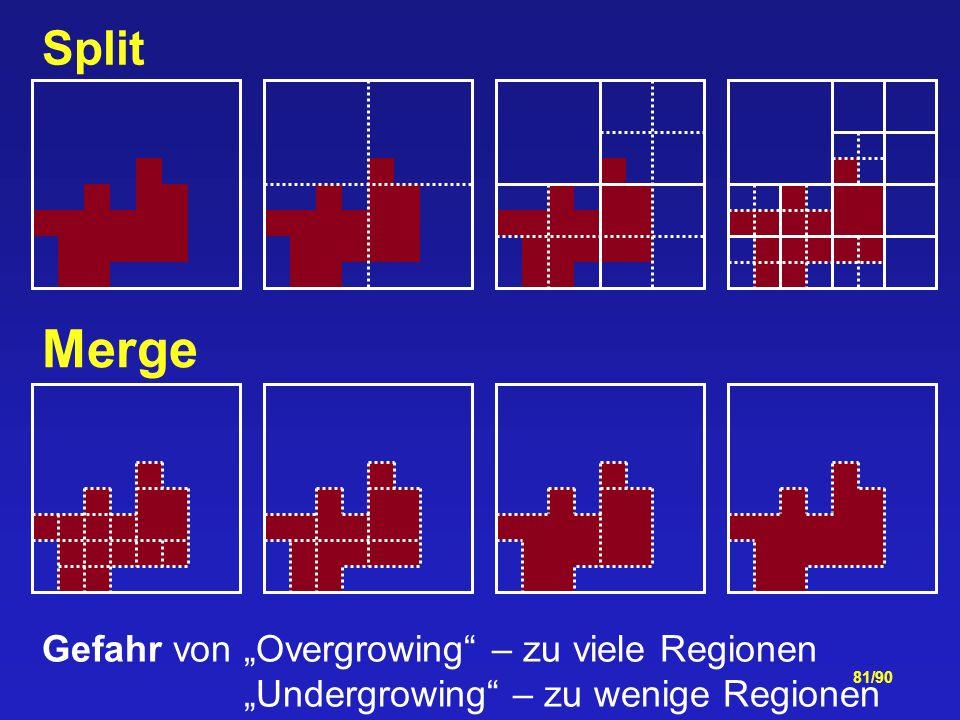 """Merge Split Gefahr von """"Overgrowing – zu viele Regionen"""