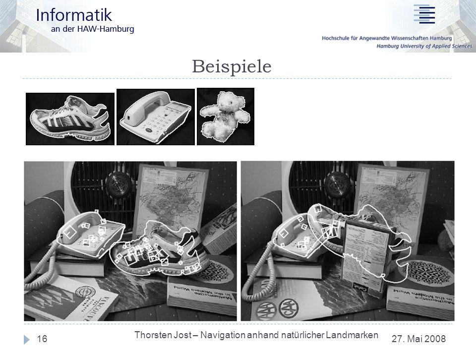 Beispiele Thorsten Jost – Navigation anhand natürlicher Landmarken