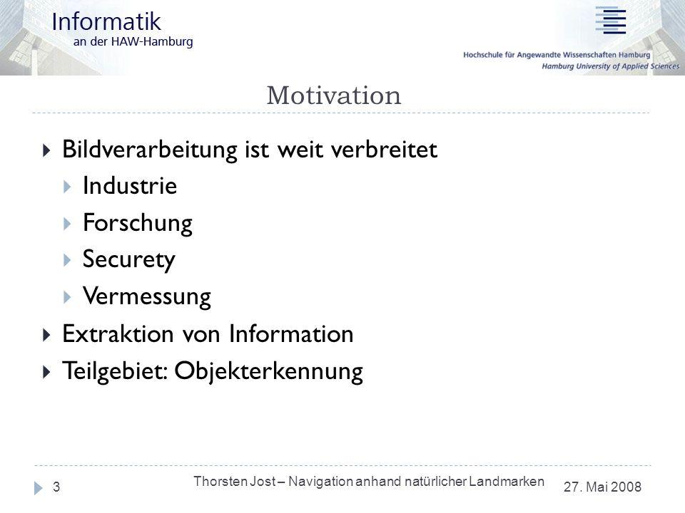 Bildverarbeitung ist weit verbreitet Industrie Forschung Securety