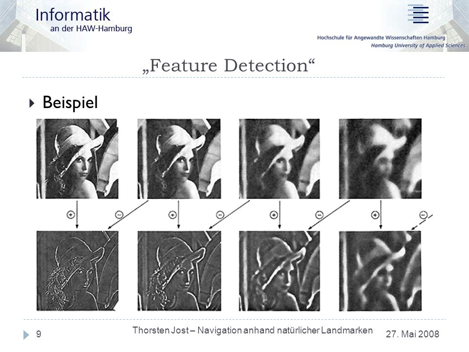 """Feature Detection Beispiel"
