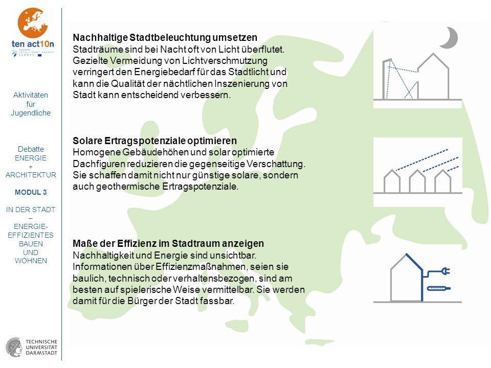 Nachhaltige Stadtbeleuchtung umsetzen