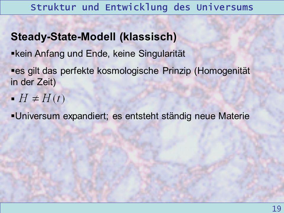 Steady-State-Modell (klassisch)