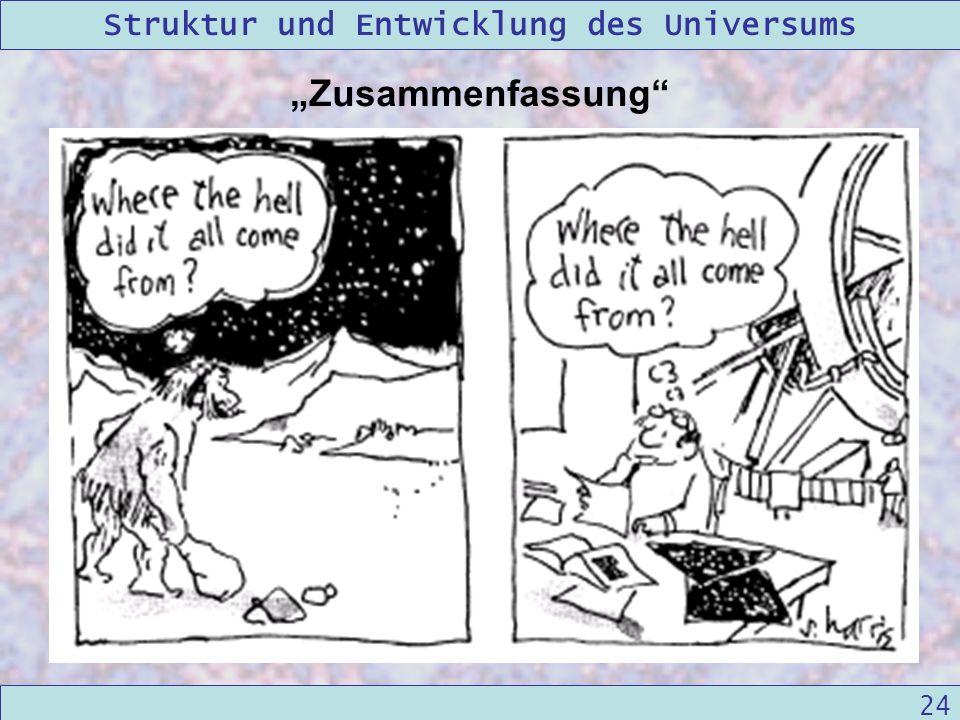 """""""Zusammenfassung cosmology marches on"""