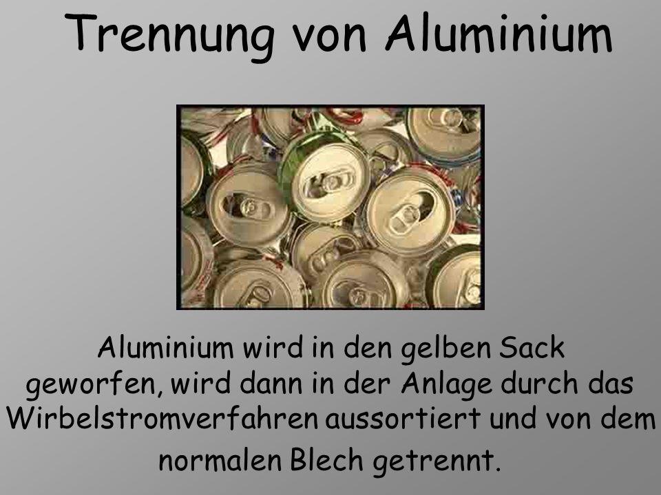 Trennung von Aluminium