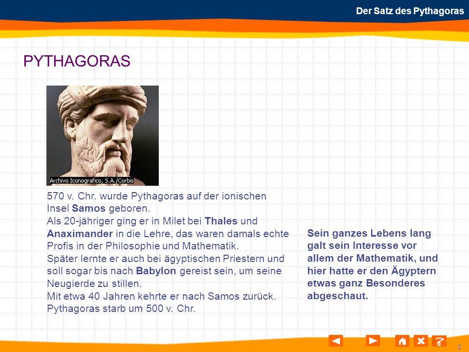 Schön Frei Satz Des Pythagoras Arbeitsblatt Ideen - Super Lehrer ...