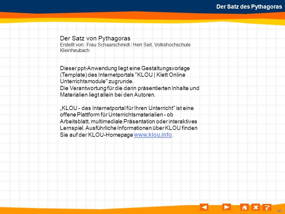 Großzügig Mathematik Satz Des Pythagoras Arbeitsblatt Ideen - Super ...