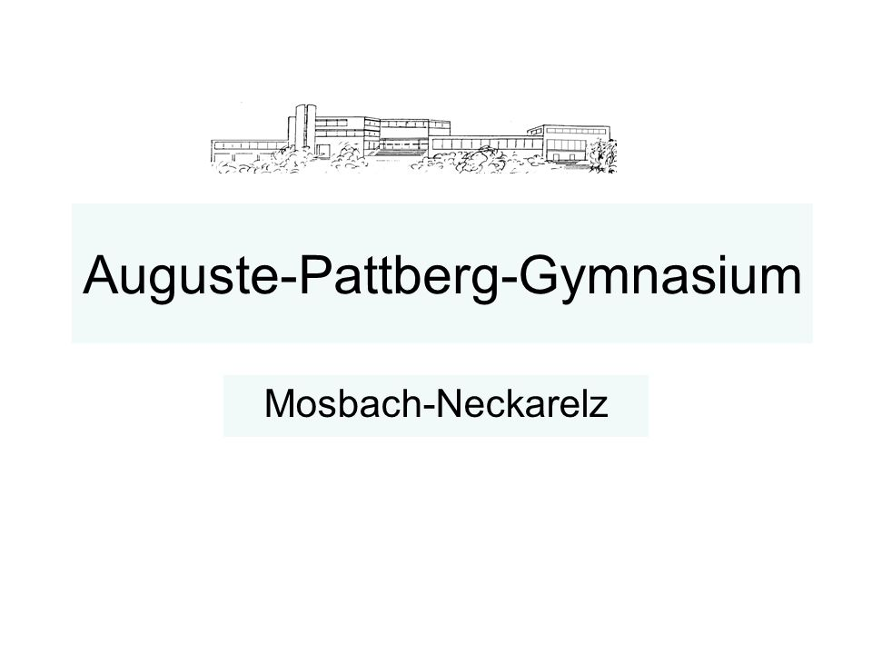 Auguste-Pattberg-Gymnasium