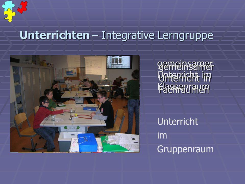 Unterrichten – Integrative Lerngruppe