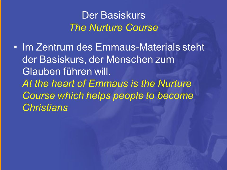 Der Basiskurs The Nurture Course