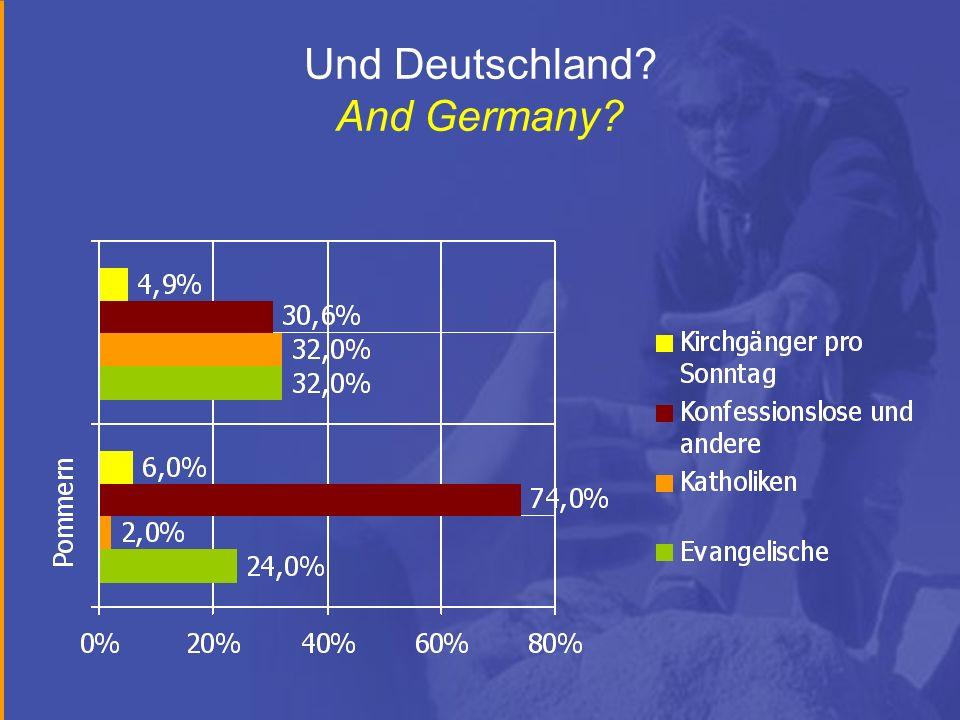Und Deutschland And Germany