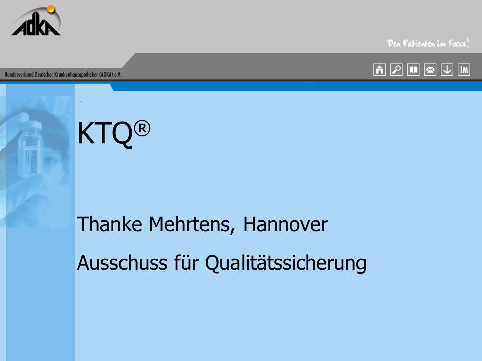 Thanke Mehrtens, Hannover Ausschuss für Qualitätssicherung
