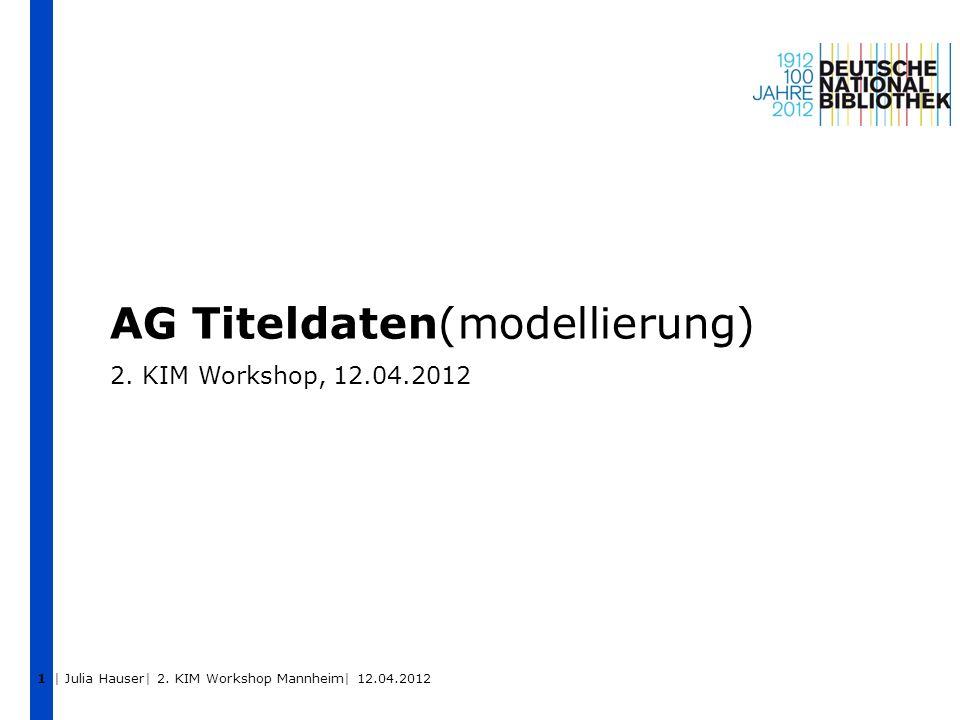 AG Titeldaten(modellierung)