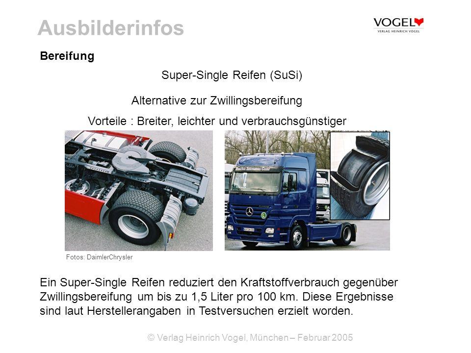 Ausbilderinfos Bereifung Super-Single Reifen (SuSi)