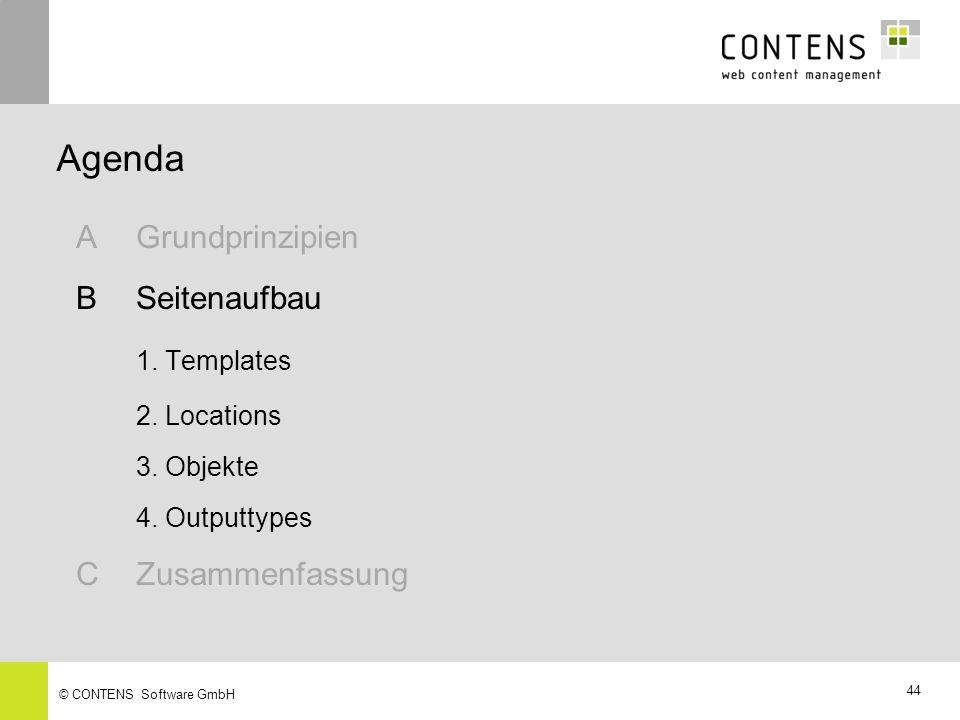 Agenda A Grundprinzipien B Seitenaufbau 1. Templates C Zusammenfassung