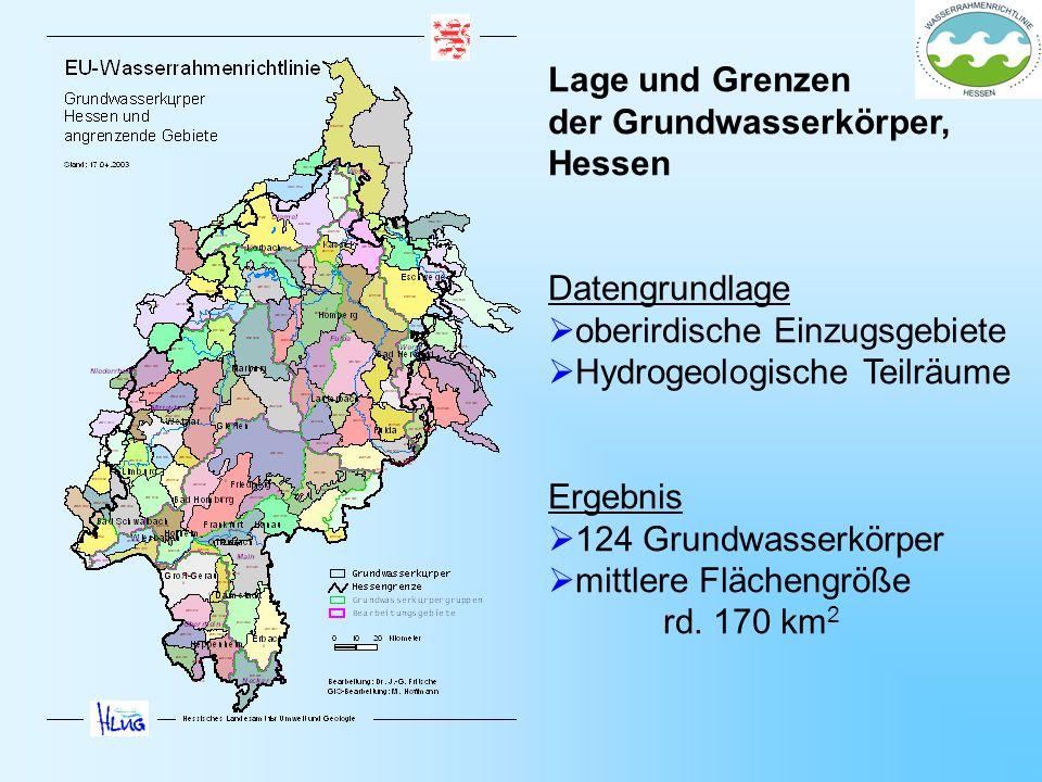 der Grundwasserkörper, Hessen