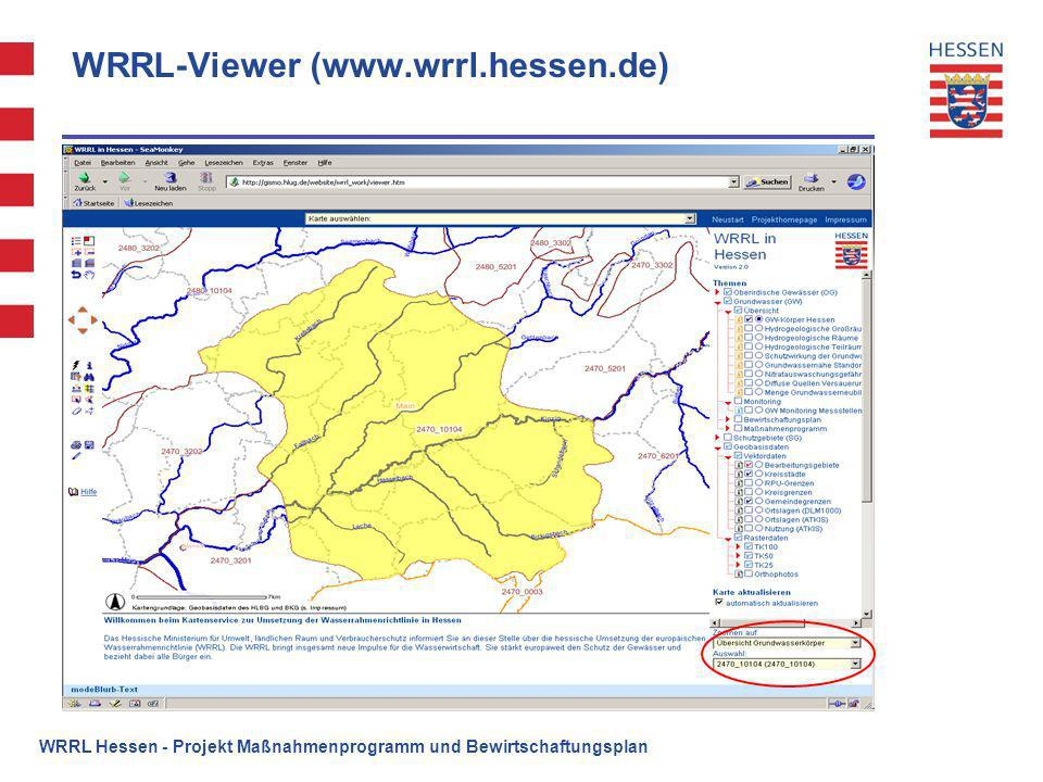 WRRL-Viewer (www.wrrl.hessen.de)