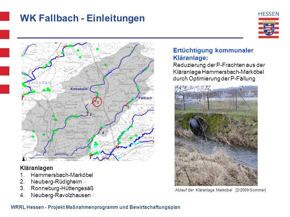 WK Fallbach - Einleitungen