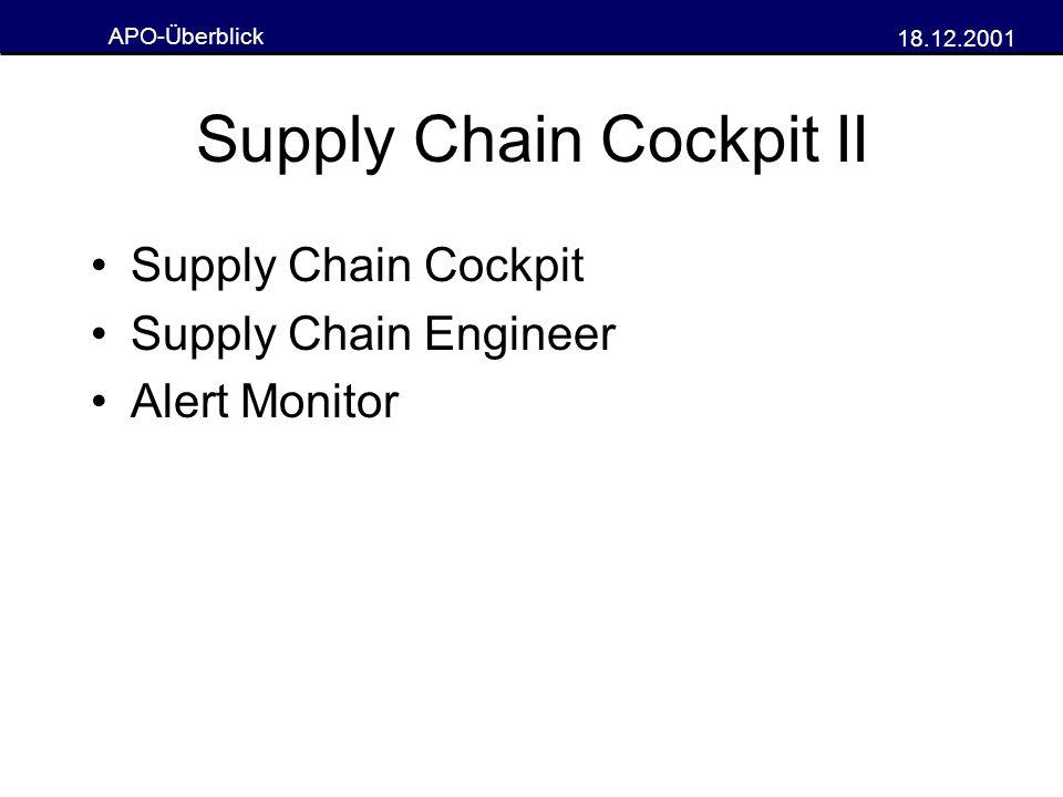 Supply Chain Cockpit II