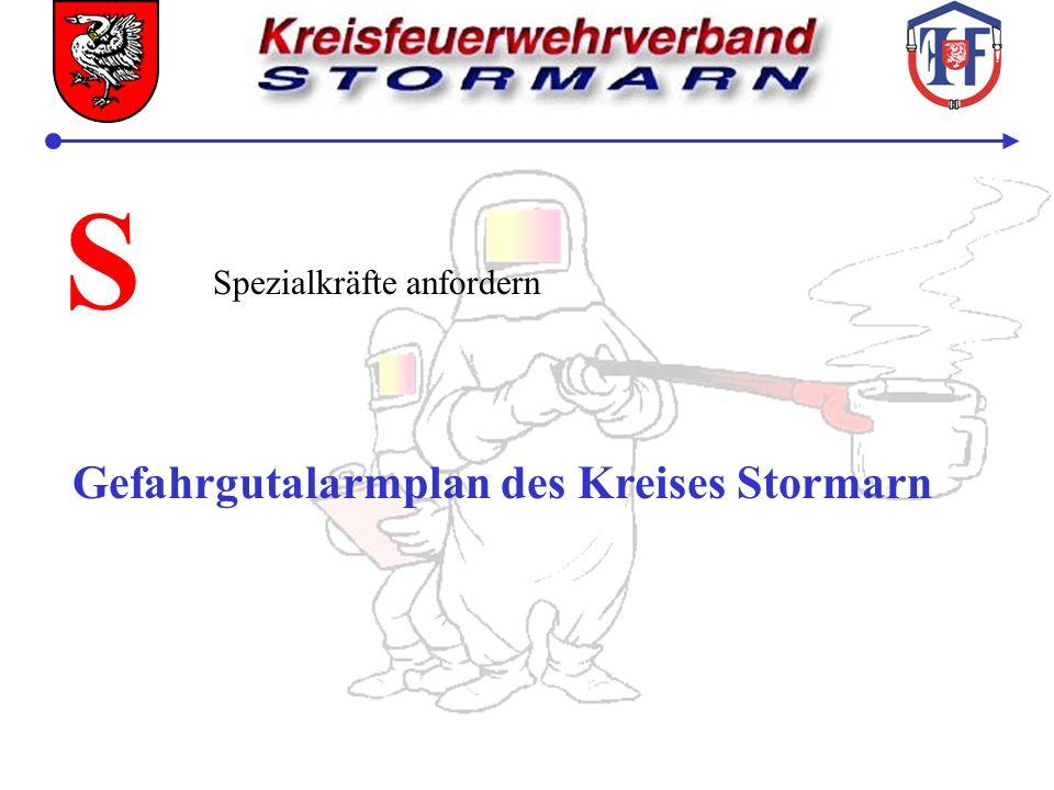 S Spezialkräfte anfordern Gefahrgutalarmplan des Kreises Stormarn