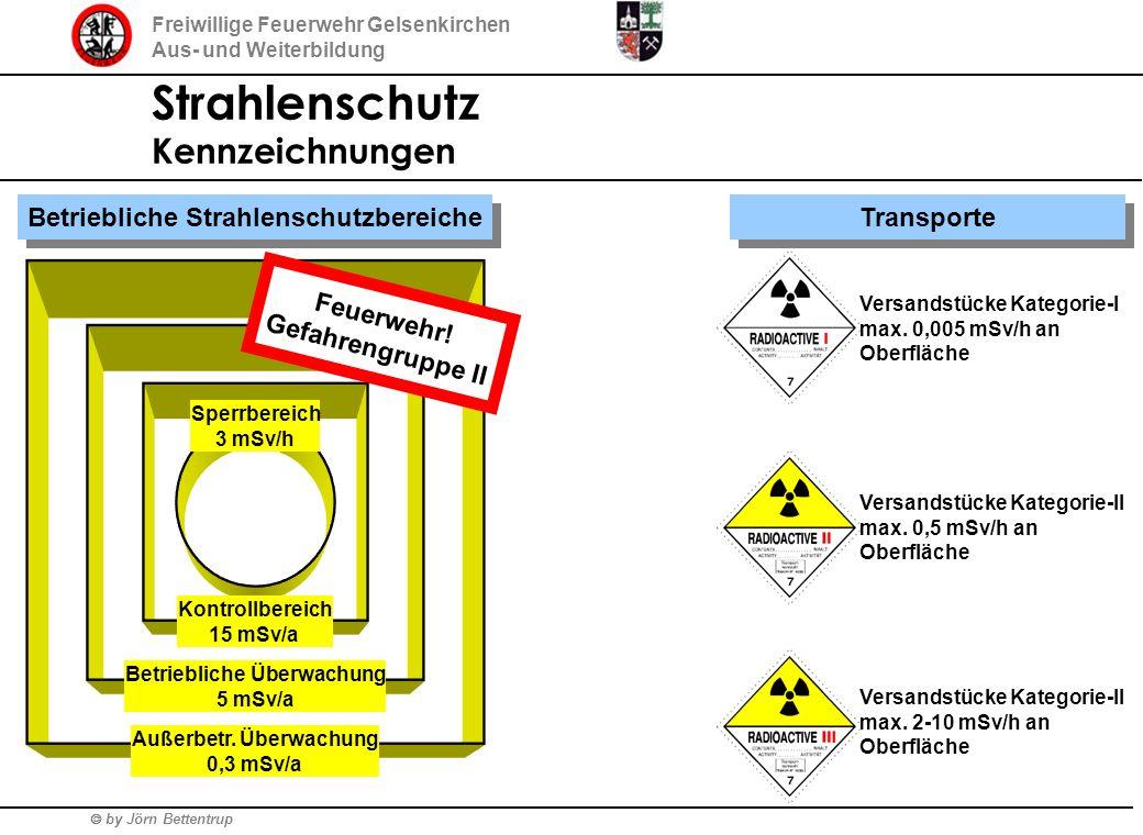 Strahlenschutz Kennzeichnungen Betriebliche Strahlenschutzbereiche
