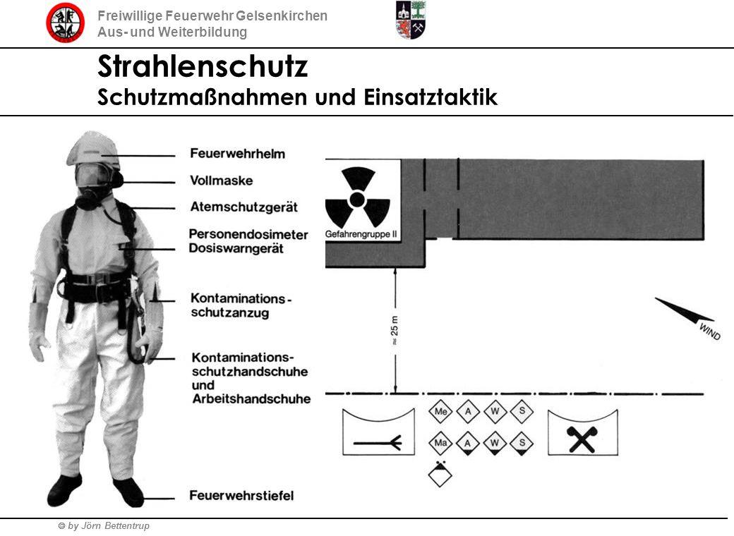Strahlenschutz Schutzmaßnahmen und Einsatztaktik
