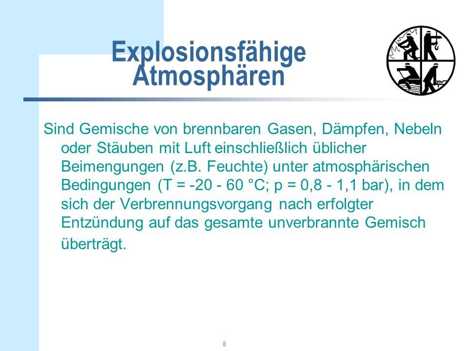 Explosionsfähige Atmosphären