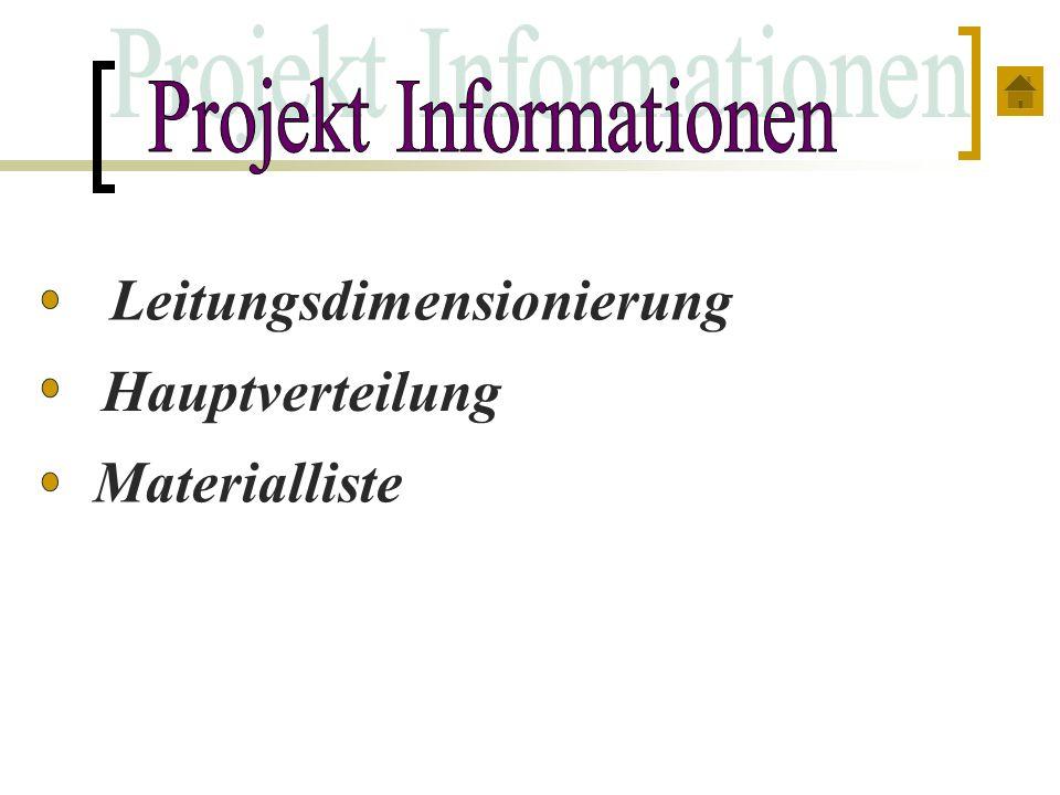 Projekt Informationen
