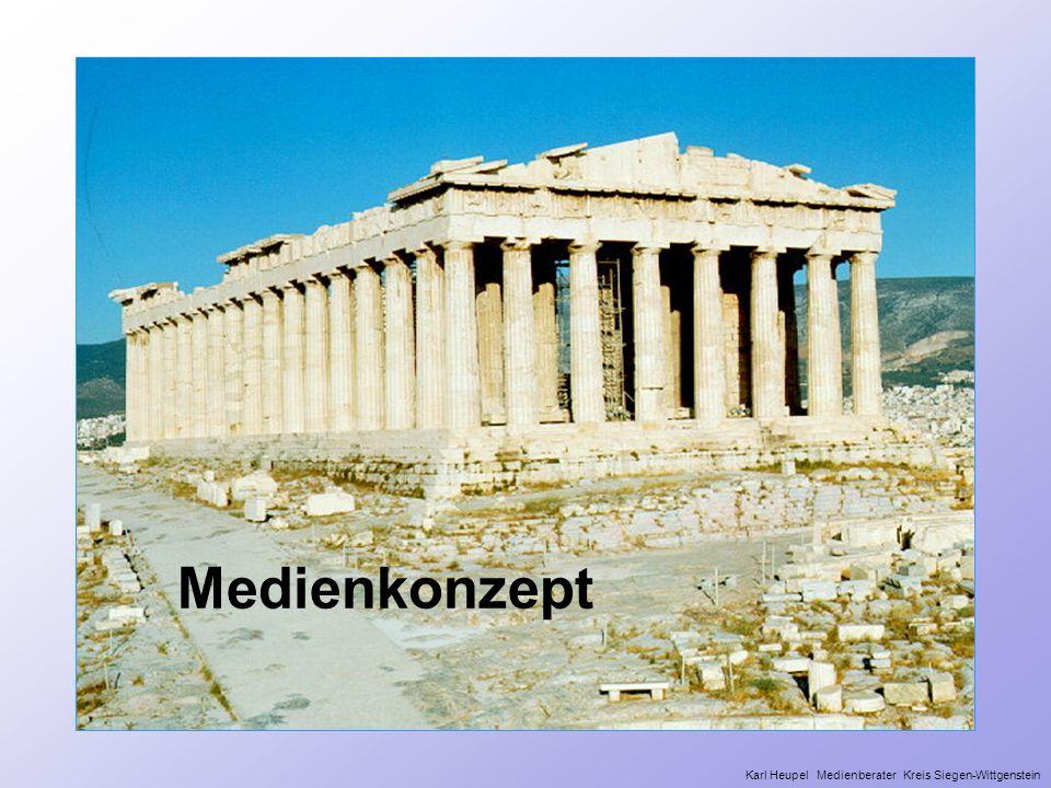 Medienkonzept Die Griechen wussten was sie wollten > Tempel bauen